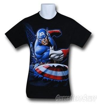 Captain America Take This T-Shirt