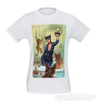 Catwoman Bathroom Selfie Men's T-Shirt