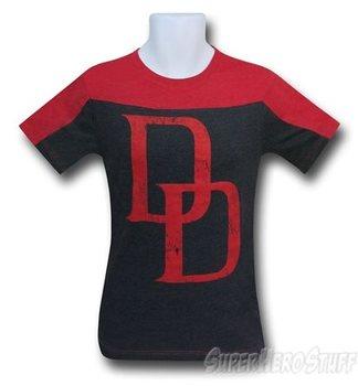 Daredevil Symbol Two-Tone Men's T-Shirt