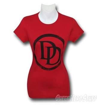 Daredevil Symbol Red Women's T-Shirt