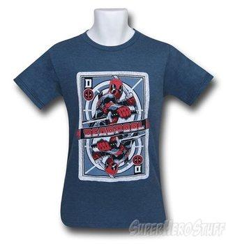 Deadpool Playing Card Men's T-Shirt