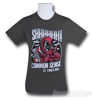 Deadpool Common Sense Tingling Men's T-Shirt