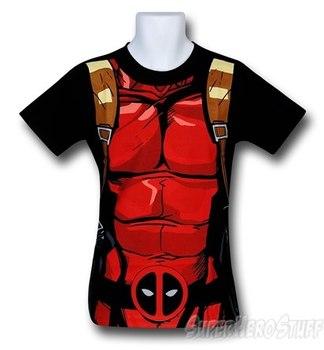 Deadpool Black 30 Single Costume T-Shirt