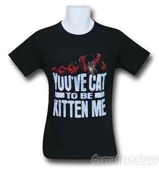 Deadpool You've Cat To Be Men's T-Shirt