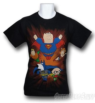 Family Guy DC Superheroes