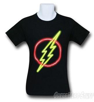 Flash Neon Symbol