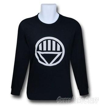 Green Lantern Black Lantern Symbol Long Sleeve T-Shirt