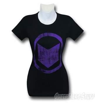 Hawkeye Distressed Symbol Women's T-Shirt