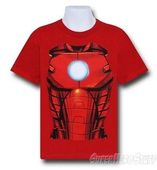 Iron Man Arc Kids Costume T-Shirt