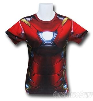 Iron Man Civil War Sublimated Costume T-Shirt