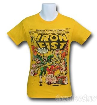 Iron Fist Comic Cover Men's T-Shirt
