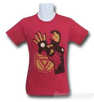 Iron Man Minimalist Heather Men's T-Shirt
