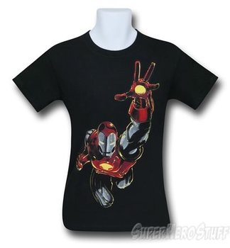 Iron Man Like a Hawk Men's T-Shirt