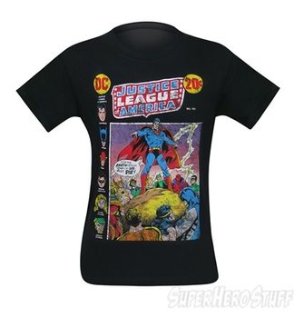 Justice League of America Comic Cover Men's T-Shirt
