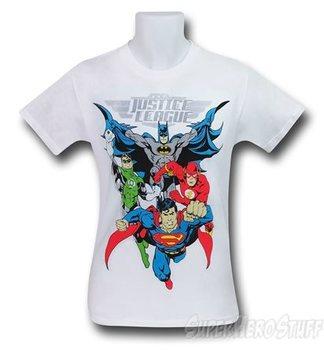 Justice League in Action Men's T-Shirt