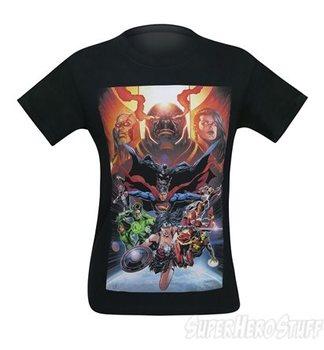 Justice League The Darkseid War Men's T-Shirt