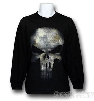 Punisher Movie Symbol Long Sleeve Shirt