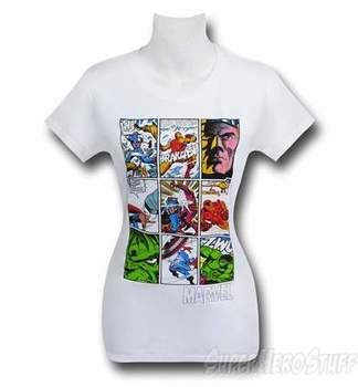 Marvel Comic Panels Women's T-Shirt