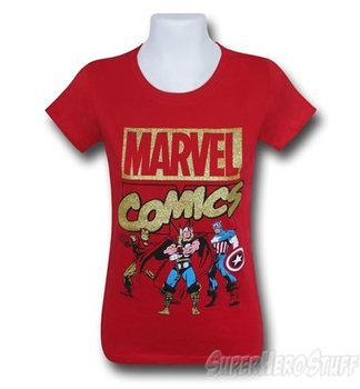 Marvel Comics Red Girls T-Shirt