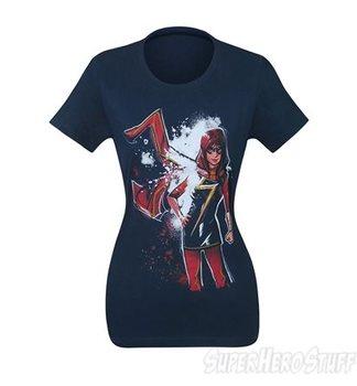Ms Marvel Midnight Women's T-Shirt