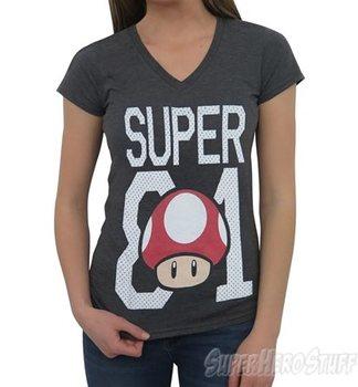 Nintendo Super Mario Bros. 81 Women's T-Shirt