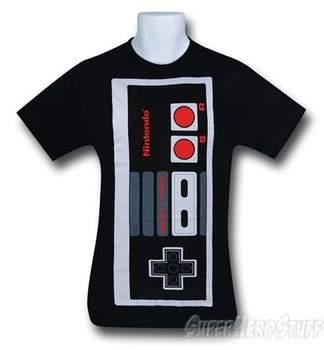 Nintendo Big Controller Black T-Shirt