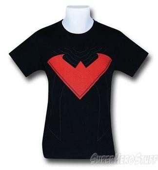 Nightwing Red Symbol Costume