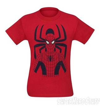 Spiderman and Symbol Minimalist Men's T-Shirt