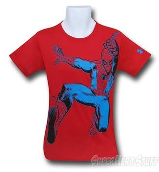 Spiderman Kids Image Under Armour Loose T-Shirt