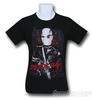 Suicide Squad Deadshot Bullet Holes Men's T-Shirt