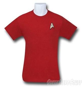 Star Trek Engineering Security Uniform T-Shirt