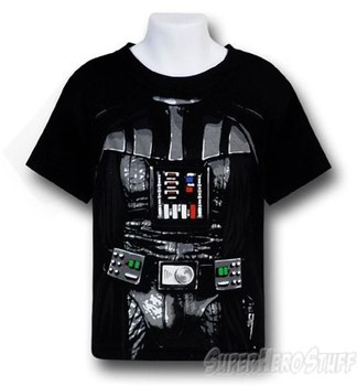 Star Wars Darth Vader Kids Costume T-Shirt