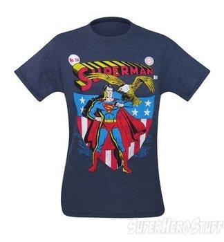 Superman America # 14 Comic Cover Men's T-Shirt