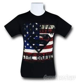 Superman America the Brave T-Shirt