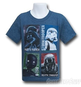 Star Wars Rogue One Best Crew Kids T-Shirt