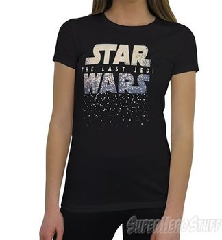 Star Wars Last Jedi Logo Women's T-Shirt