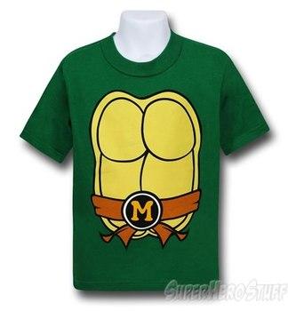TMNT Michelangelo Kids Costume T-Shirt