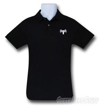 Venom Symbol Black Polo T-Shirt