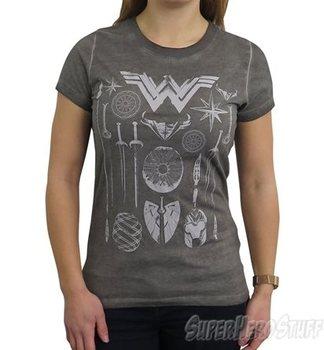 Wonder Woman Armory High Low Women's T-Shirt