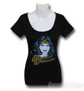Wonder Woman Face Women's T-Shirt