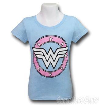 Wonder Woman Sugar Glitter Girls T-Shirt