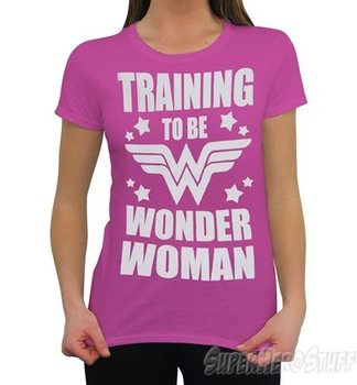 Wonder Woman Training to Be Women's T-Shirt