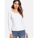 Scalloped Fitting Tee