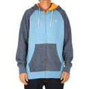 Billabong Balance Zip Hoodie in Marine Blue Heather
