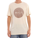 RVCA Motors T Shirt in Almond Tea