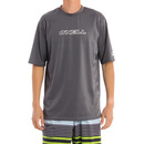 O'Neill Basic Skins Rash Tee in Graphite