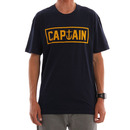 Captain Fin Co. Naval Captain T-Shirt in Navy