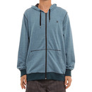 Hurley Dri-Fit Zip Hoodie in Rift Blue