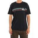 Quiksilver Swell Trip T Shirt in Black.