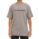 Volcom New Style T Shirt in Heather Grey